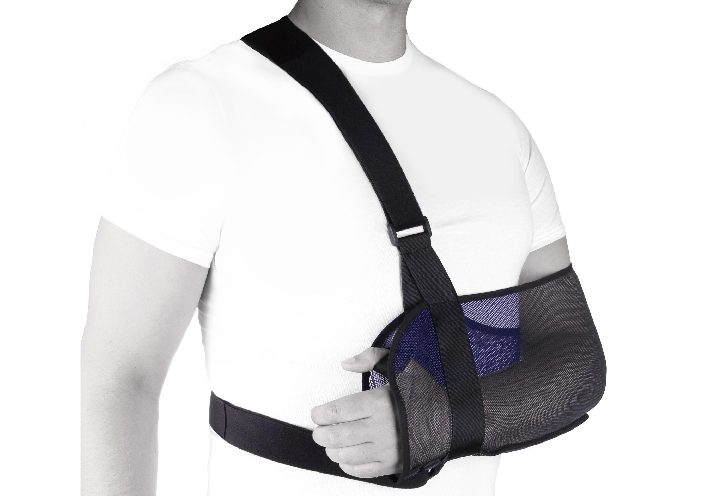 Повязка на руку при переломе своими руками